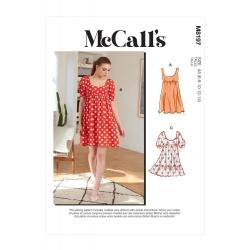 Wykrój McCall's M8197