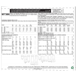 Wykrój McCall's M7323
