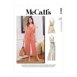 Wykrój McCall's M8218