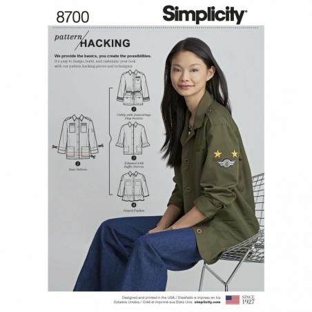 Simplicity 8700 envelope front