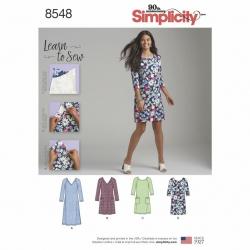 Wykrój Simplicity 8548