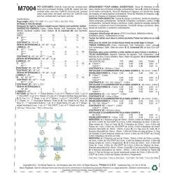 Wykrój McCall's M7004