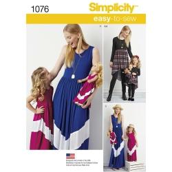 Wykrój Simplicity 1076