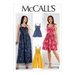 Wykrój McCall's M7778