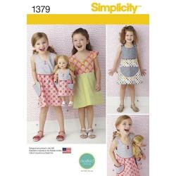 Wykrój Simplicity 1379