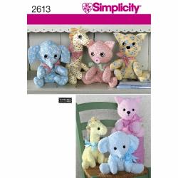 Wykrój Simplicity 2613