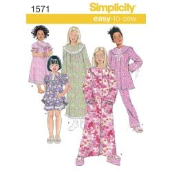 Wykrój Simplicity 1571