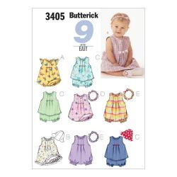 Wykrój Butterick B3405