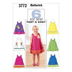 Wykrój Butterick B3772