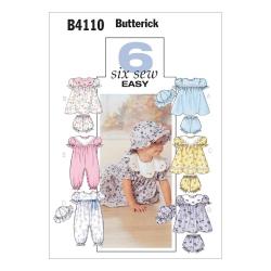 Wykrój Butterick B4110
