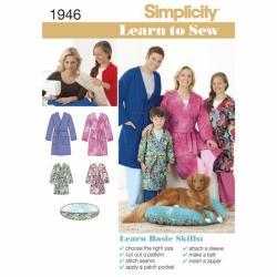 Wykrój Simplicity 1946