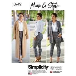 Wykrój Simplicity 8749