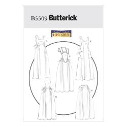 Wykrój Butterick B5509