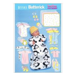 Wykrój Butterick B5583