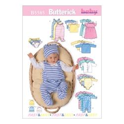 Wykrój Butterick B5585