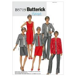 Wykrój Butterick B5719