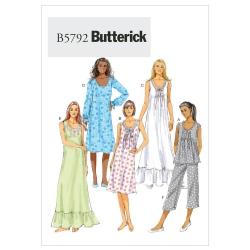 Wykrój Butterick B5792