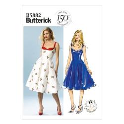 Wykrój Butterick B5882