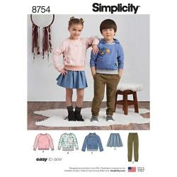 Wykrój Simplicity 8754