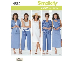 Wykrój Simplicity 4552