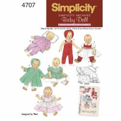 Wykrój Simplicity 4707