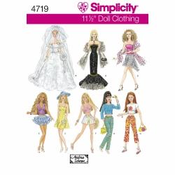 Wykrój Simplicity 4719