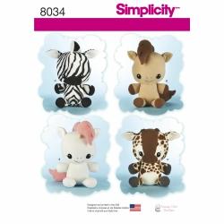 Wykrój Simplicity 8034