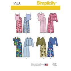 Wykrój Simplicity 1043