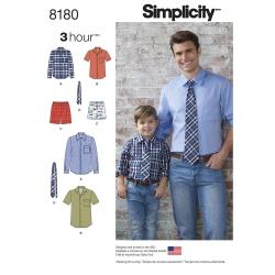 Wykrój Simplicity 8180
