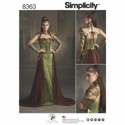 Wykrój Simplicity 8363