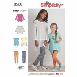 Wykrój Simplicity 8566