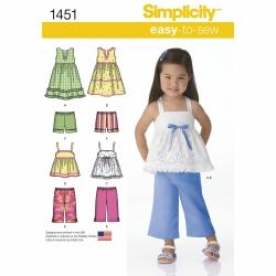 Wykrój Simplicity 1451