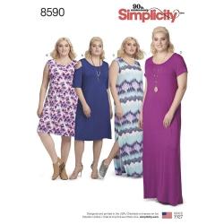 Wykrój Simplicity 8590