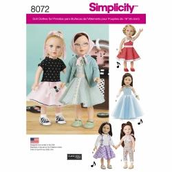 Wykrój Simplicity 8072