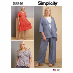 Wykrój Simplicity 8846