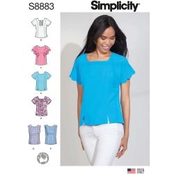 Wykrój Simplicity 8883