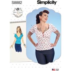 Wykrój Simplicity 8882