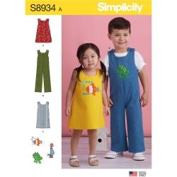 Wykrój Simplicity 8934