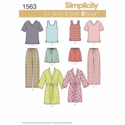 Wykrój Simplicity 1563