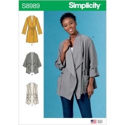 Wykrój Simplicity 8989