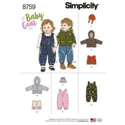 Wykrój Simplicity 8759