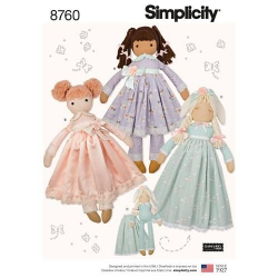 Wykrój Simplicity 8760
