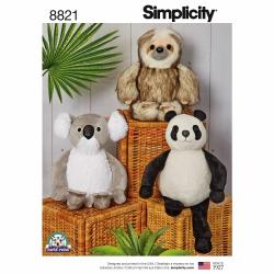 Wykrój Simplicity 8821