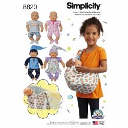 Wykrój Simplicity 8820