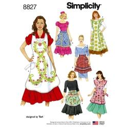 Wykrój Simplicity 8827