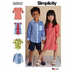 Wykrój Simplicity 8852