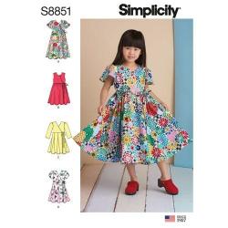 Wykrój Simplicity 8851