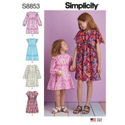 Wykrój Simplicity 8853