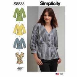 Wykrój Simplicity S8838