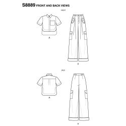 Wykrój Simplicity 8889